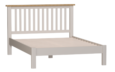 "Richmond Painted Oak 4ft 6"" Bed"